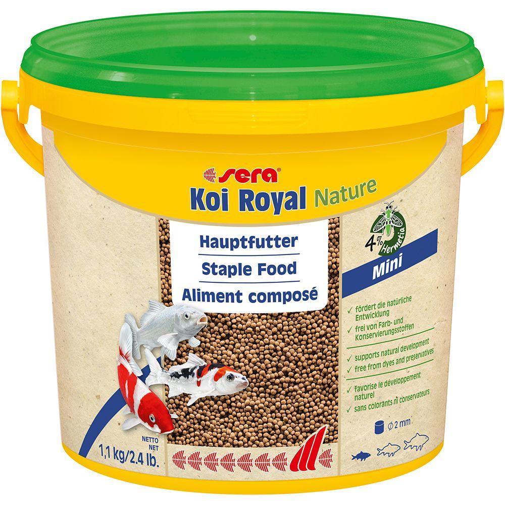 Sera Koi Royal mini Granulat - 2 x 3800 ml