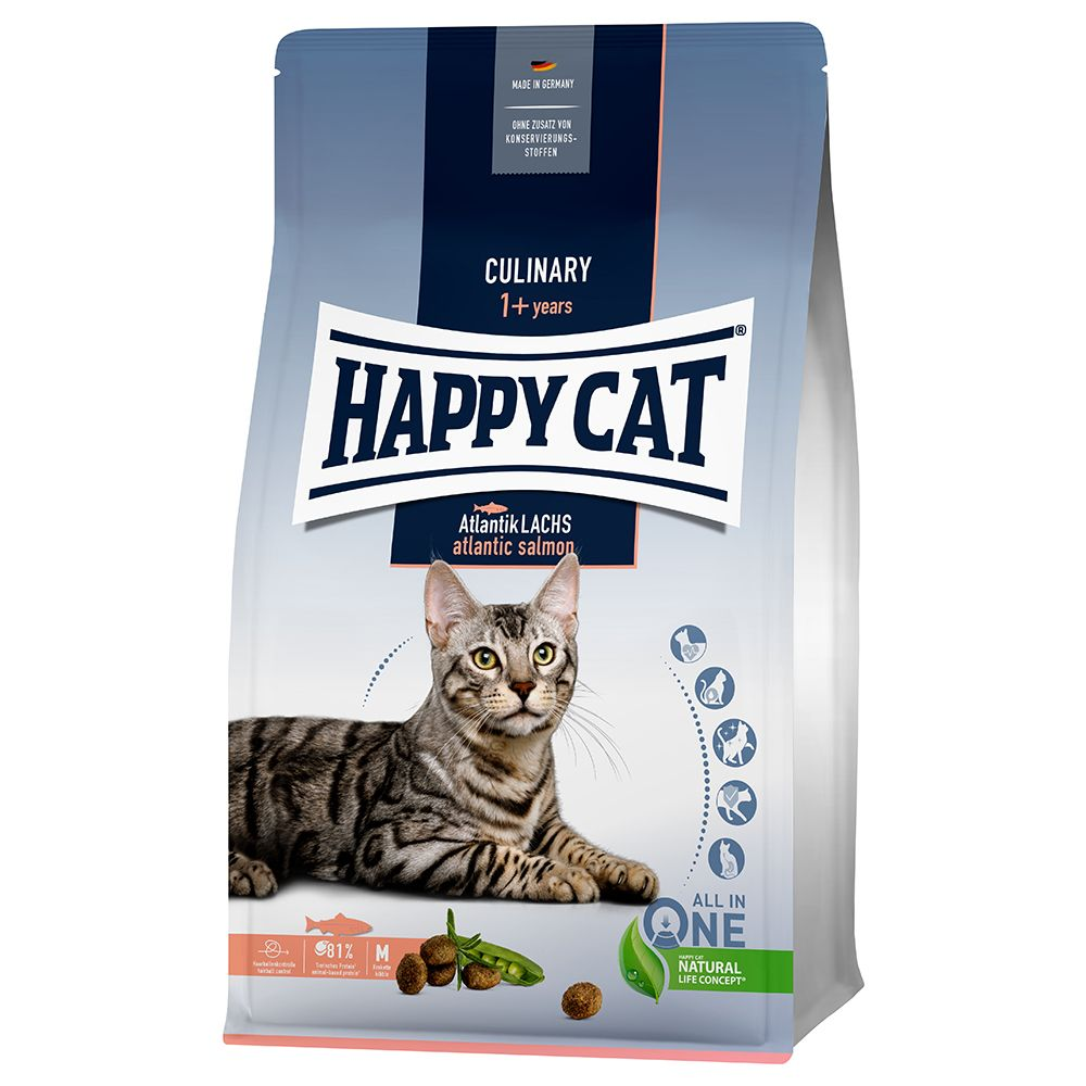 Happy Cat Culinary Adult Atlantic Salmon - 1,3 kg