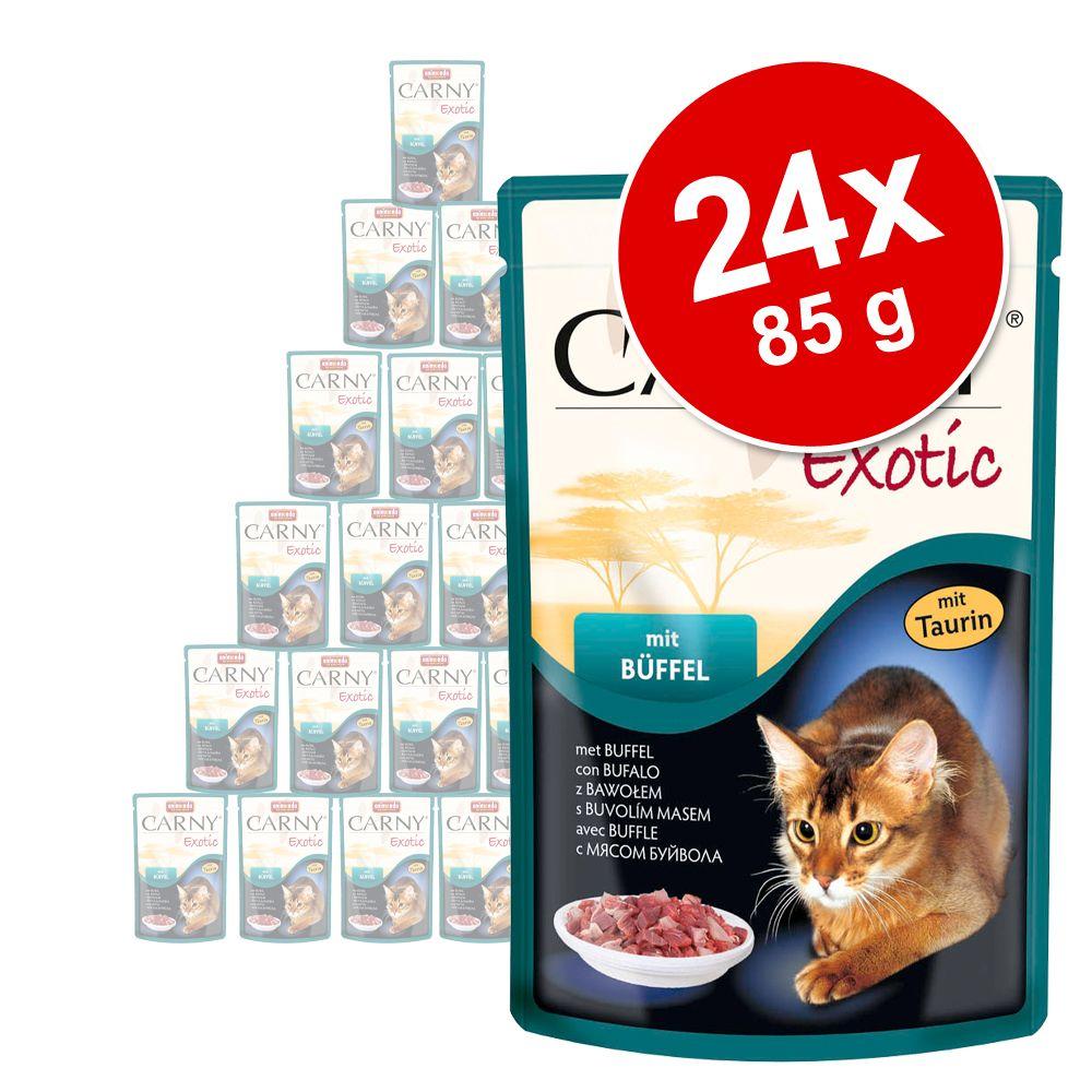 Sparpaket Animonda Carny Exotic 24 x 85 g - Strauß