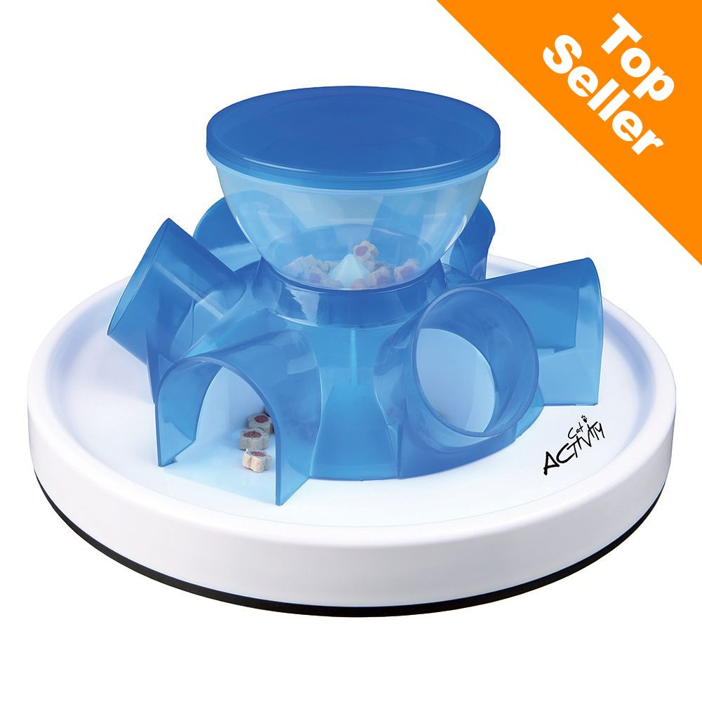 Trixie Cat Activity Tunnel Feeder - 1 st