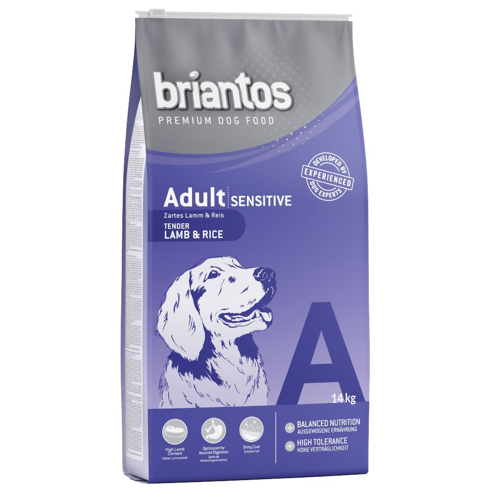 Briantos Adult Sensitive Lamb & Rice - Economy Pack: 2 x 14kg