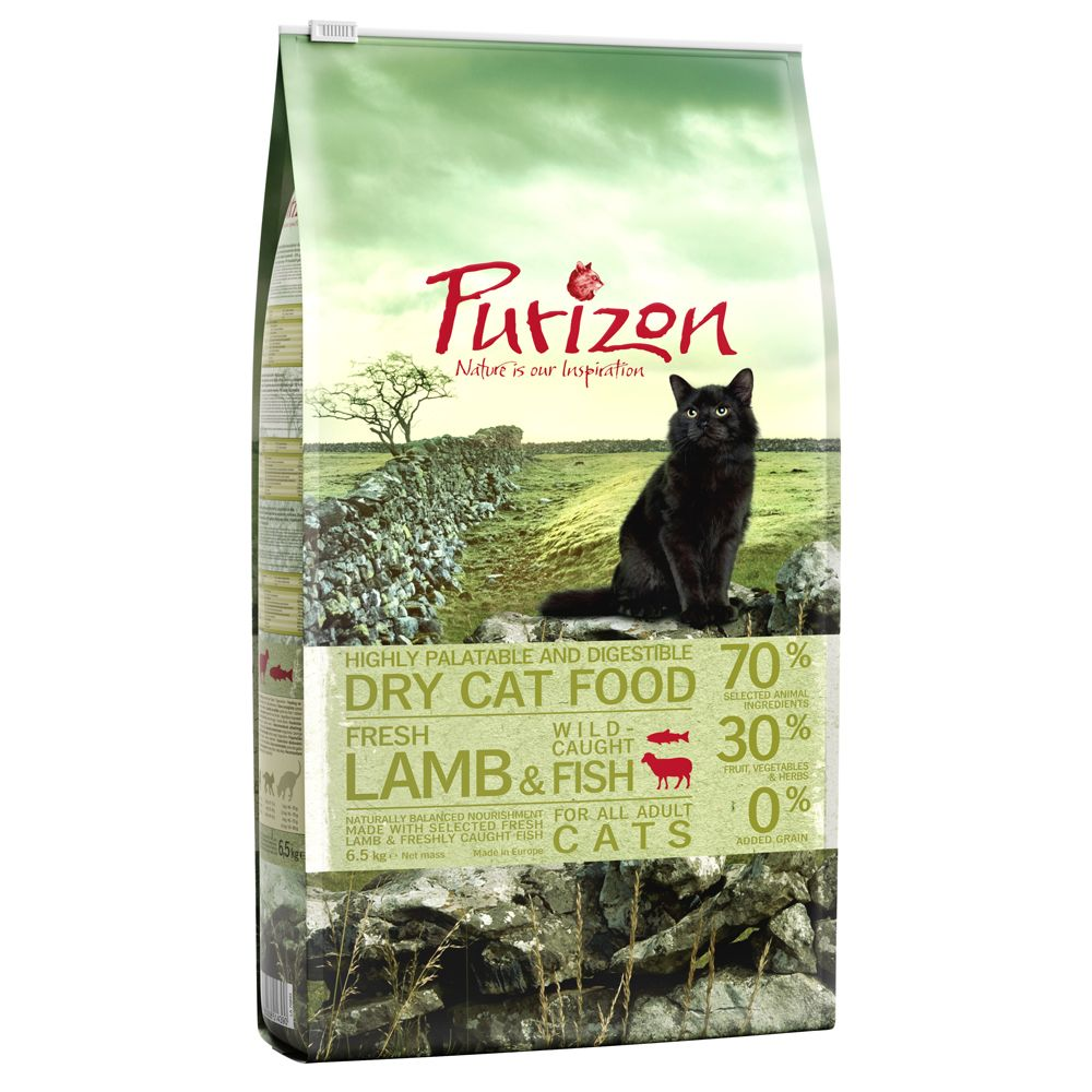 INOpets.com Anything for Pets Parents & Their Pets Purizon Adult Lamb & Fish - 400g
