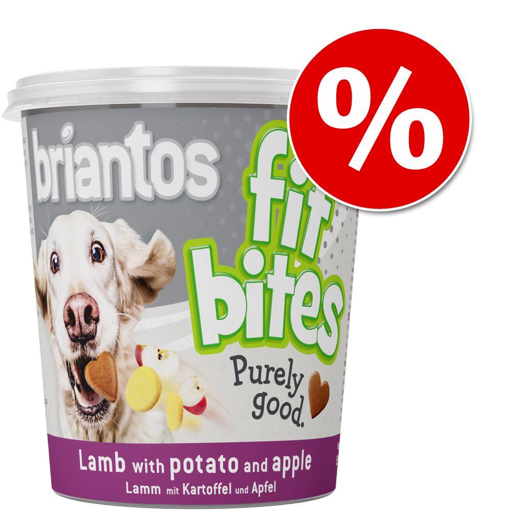 Briantos ''''FitBites'''' hundgodis 100 g till prova-på-pris! - Anka med rödbeta & havregryn (vetefritt)