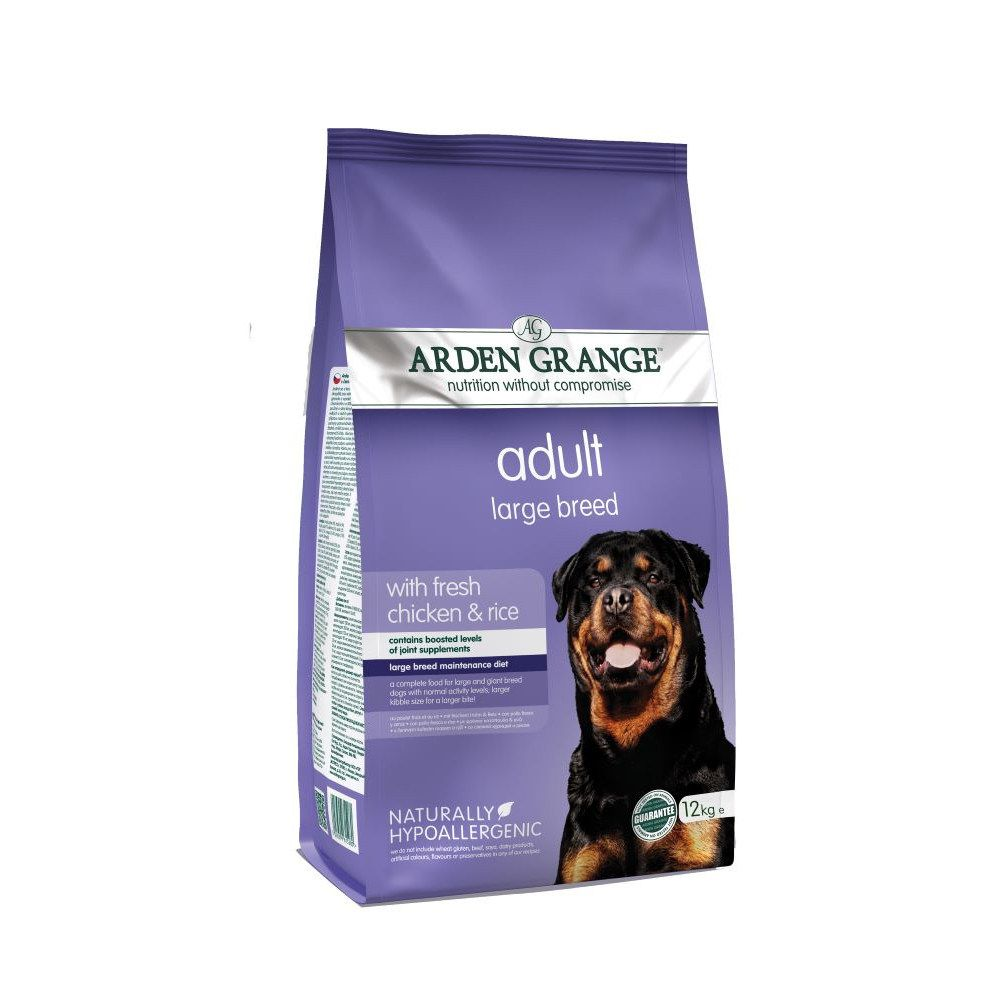 Adult Large Breed Chicken & Rice Arden Grange Dry Dog Food