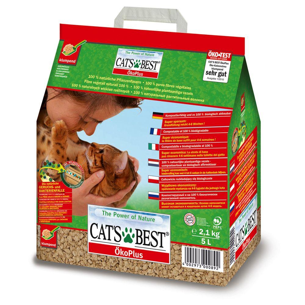 Cat's Best Öko Plus Trial Size - 5l - 5l