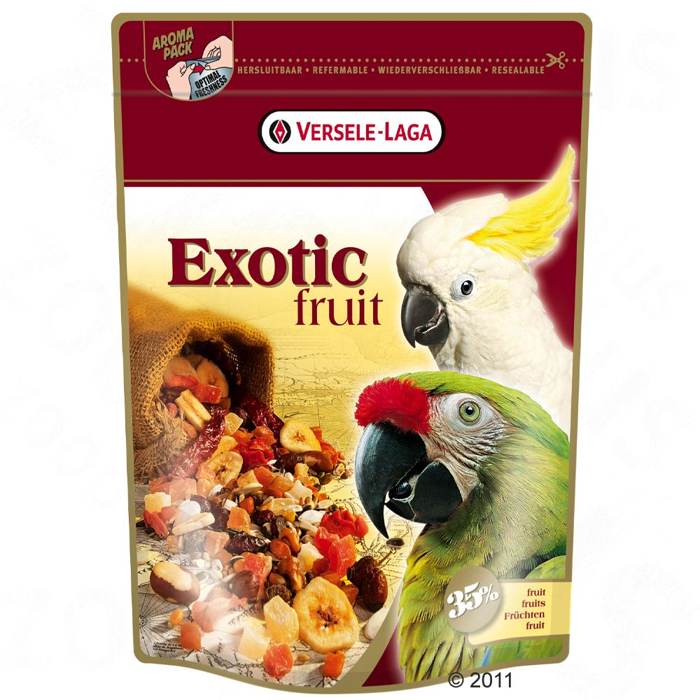 Versele-Laga Exotic Fruit - 2 x 600 g