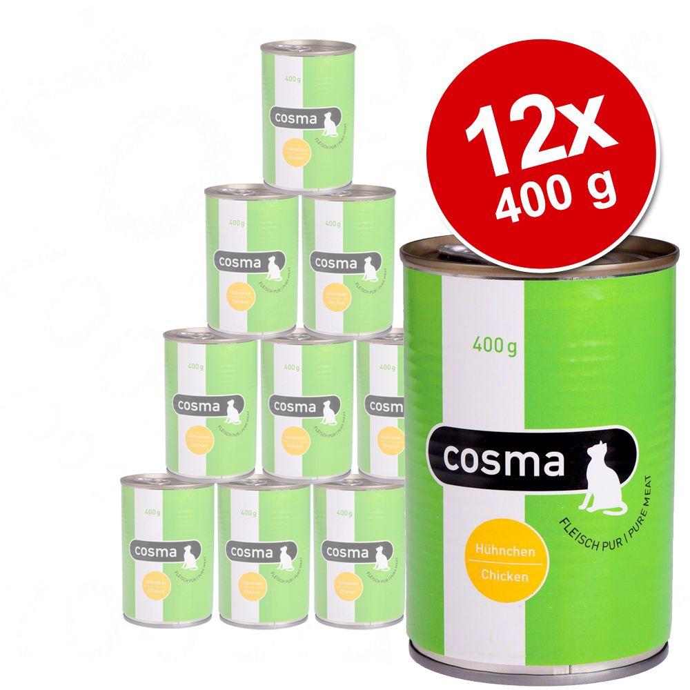 Pakiet Cosma Original, 12 x 400 g - Pakiet mieszany