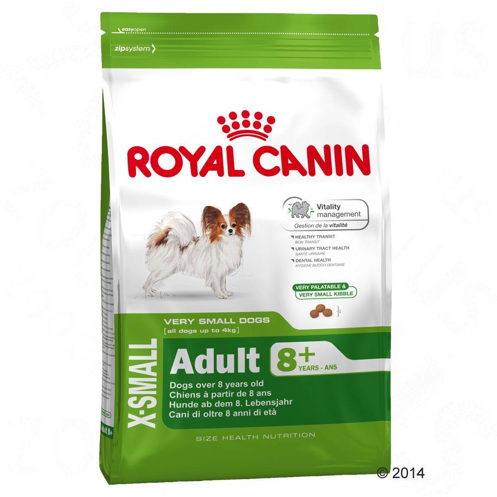 Royal Canin X-Small Adult 8 + Varčno pakiranje: 2 x 3 kg