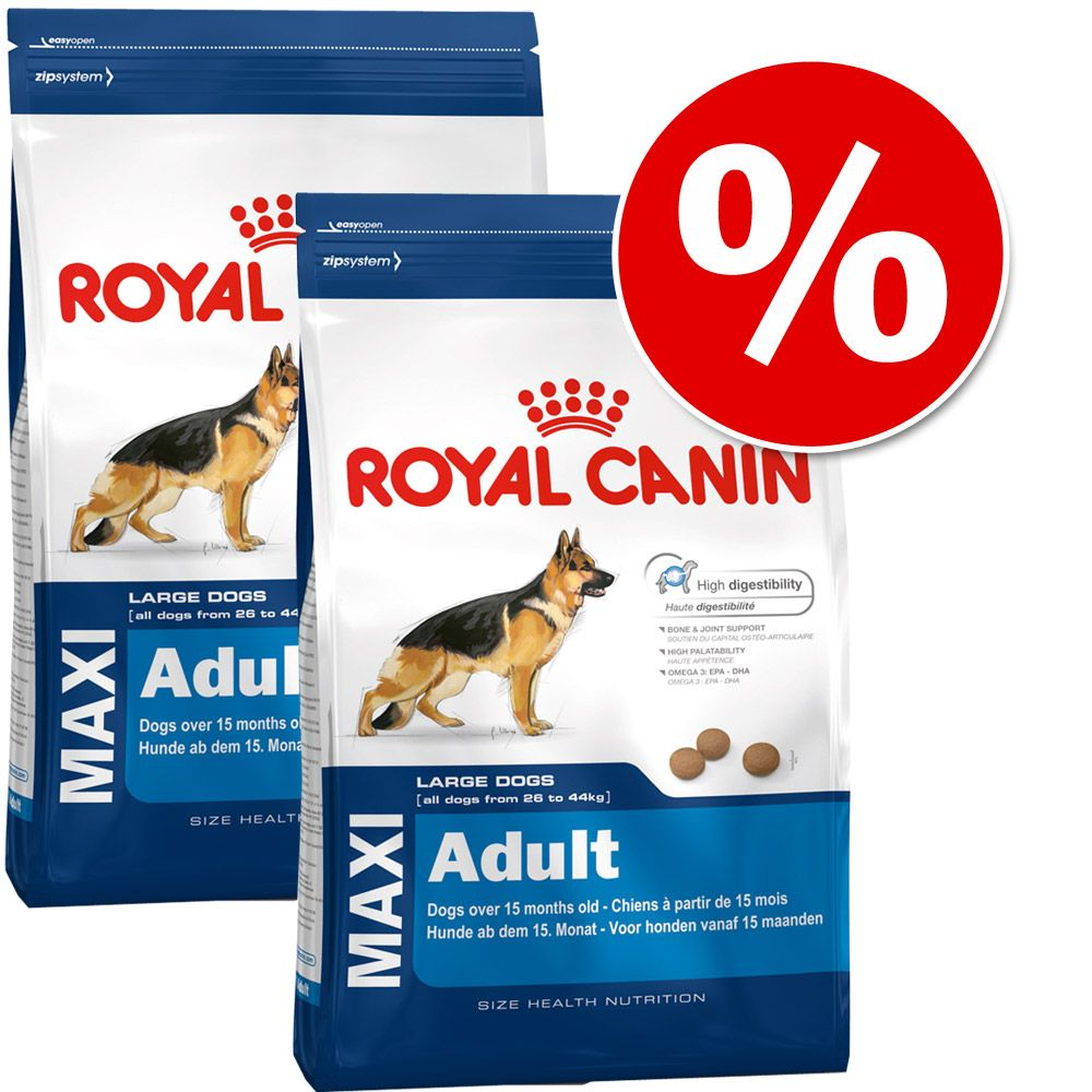 Sparpaket Royal Canin Size - Maxi Junior Active...