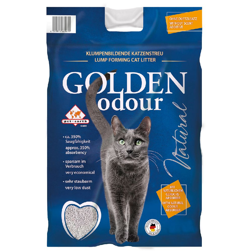 14kg Golden Grey Odour Litière pour chat