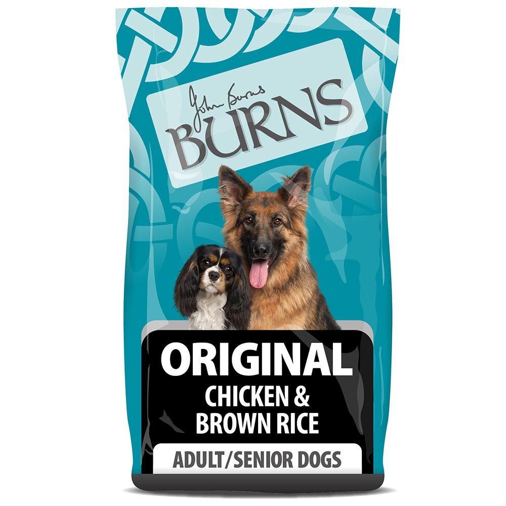 Burns Adult & Senior Original - Chicken & Brown Rice - Economy Pack: 2 x 12kg