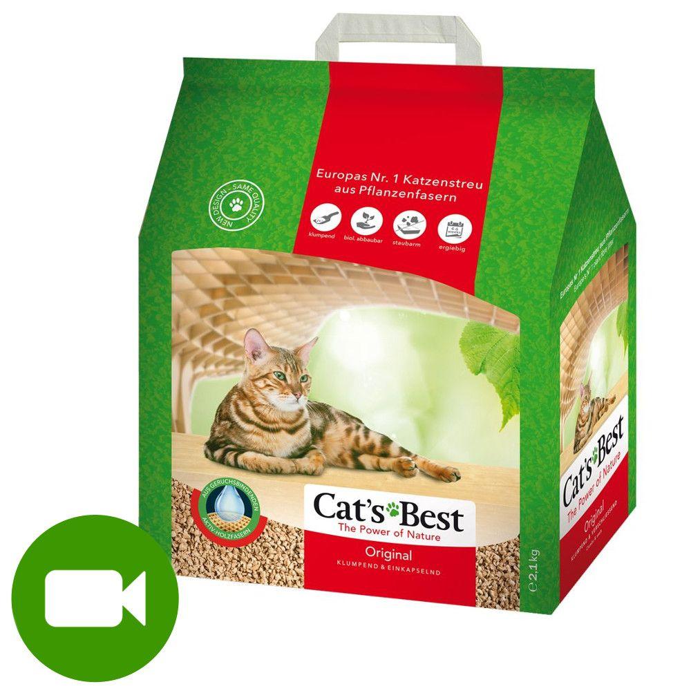 Cat's Best Original, żwirek zbrylający - 5 l (ok. 2,2 kg)