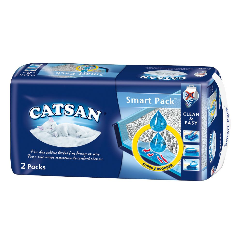 Catsan Smart Pack - 2 Packs