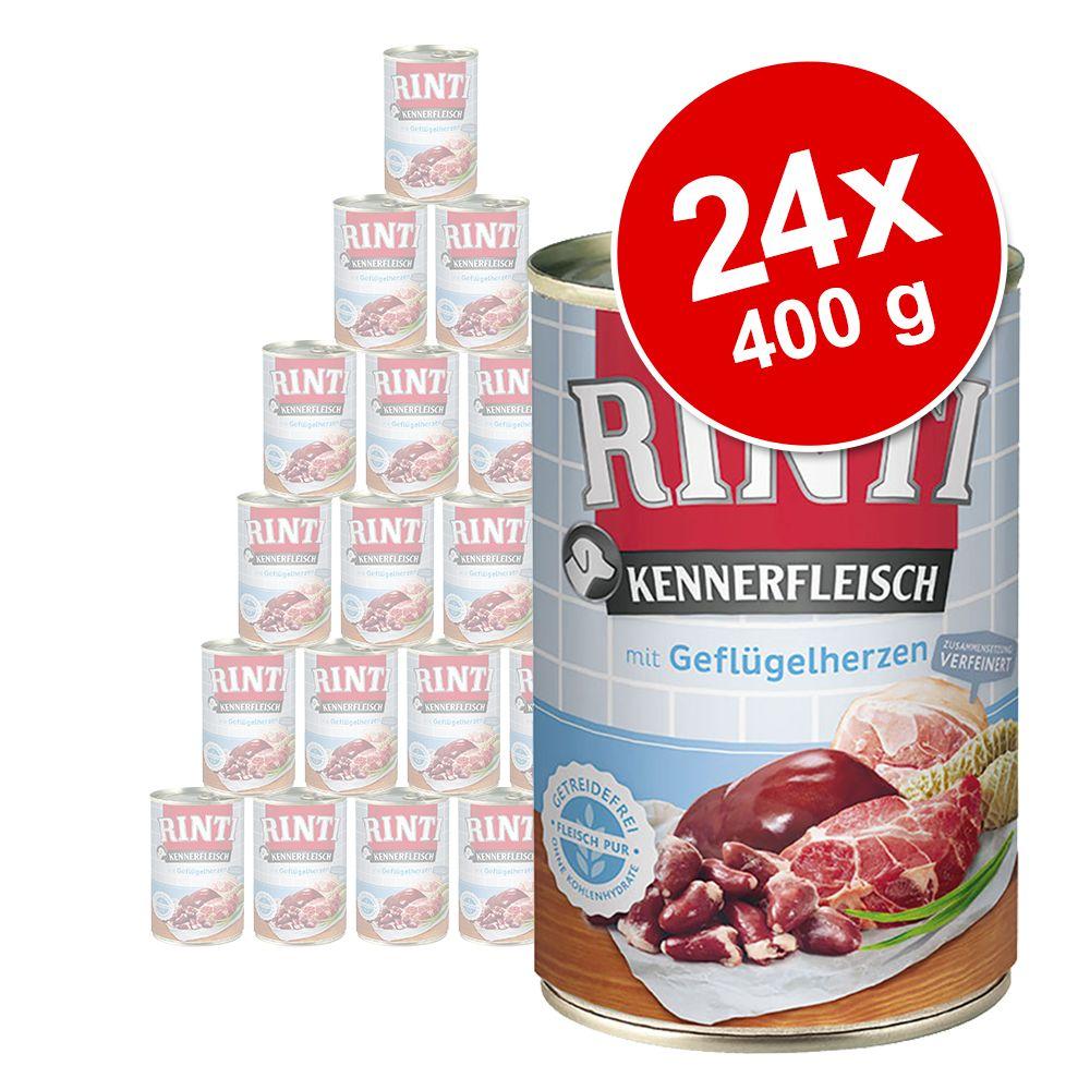Sparpaket RINTI Kennerfleisch 24 x 400 g - Hirsch
