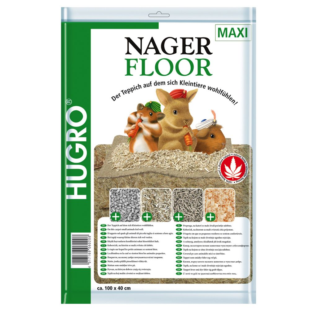 Hugro Hemp Bedding - Small Pets