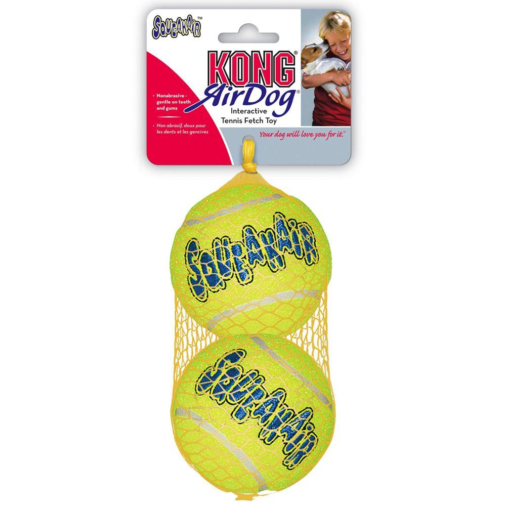 KONG AirDog Squeakair Ball Large (2 pack)