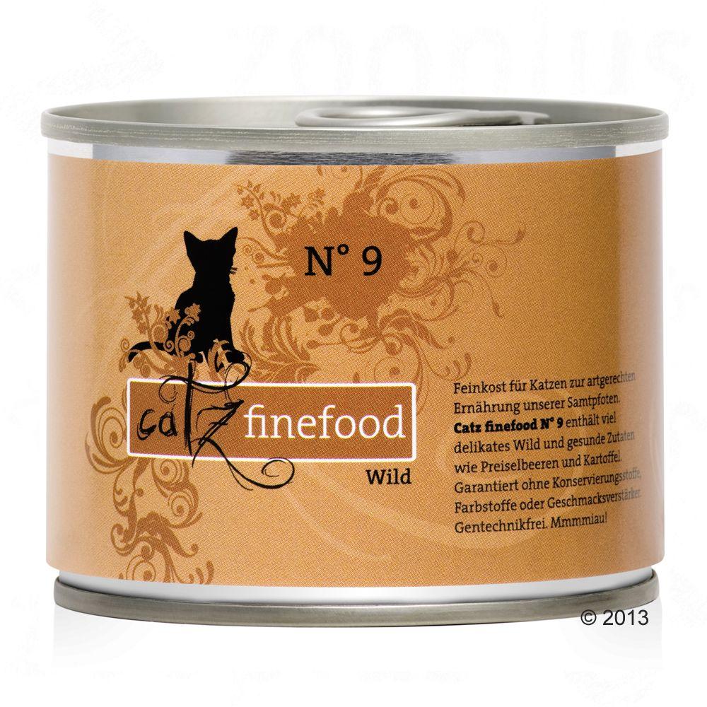 Catz Finefood w puszce, 6 x 200 g - Drób z krewetkami