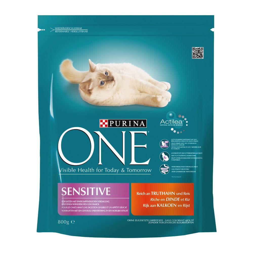 Chat Croquettes Purina One Croquettes Purina One pour chat difficile ou souffrant de sensibilité alimentaire