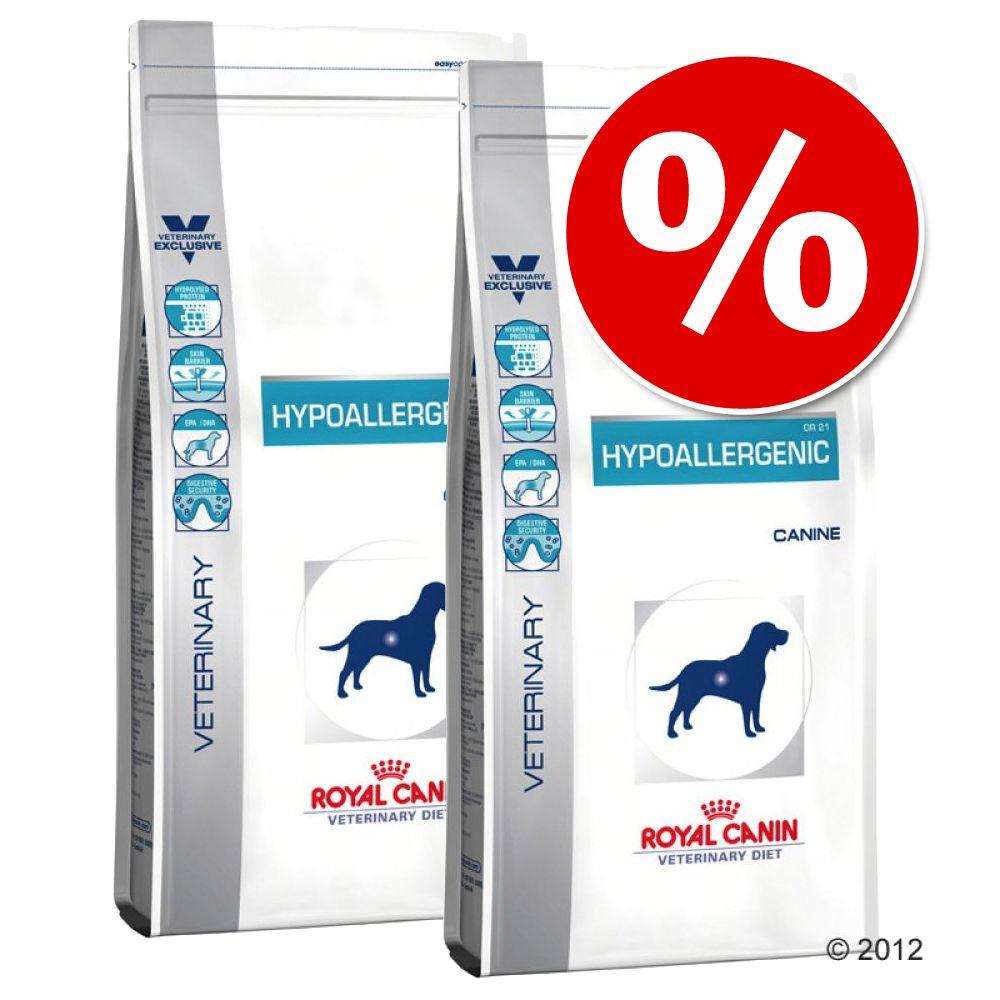 Ekonomipack: 2 påsar Royal Canin Vet Diet hundfoder till lågt pris! - Gastro Intestinal Low Fat (2 x 12 kg)