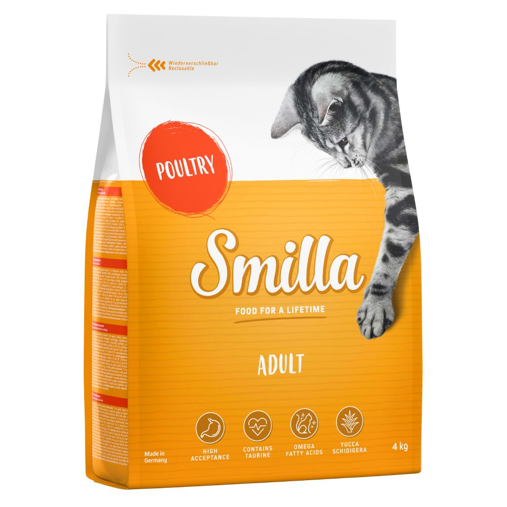 Adult Poultry Smilla Dry Cat Food