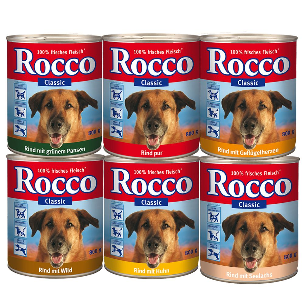 Rocco Mixed Trial Pack 6 x 800g - Junior