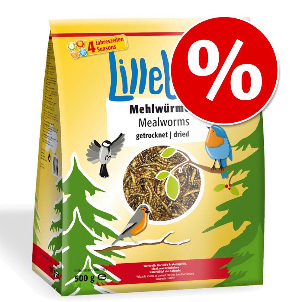 Image of Offerta prova! 500 g Lillebro Vermi della farina essiccati - 500 g