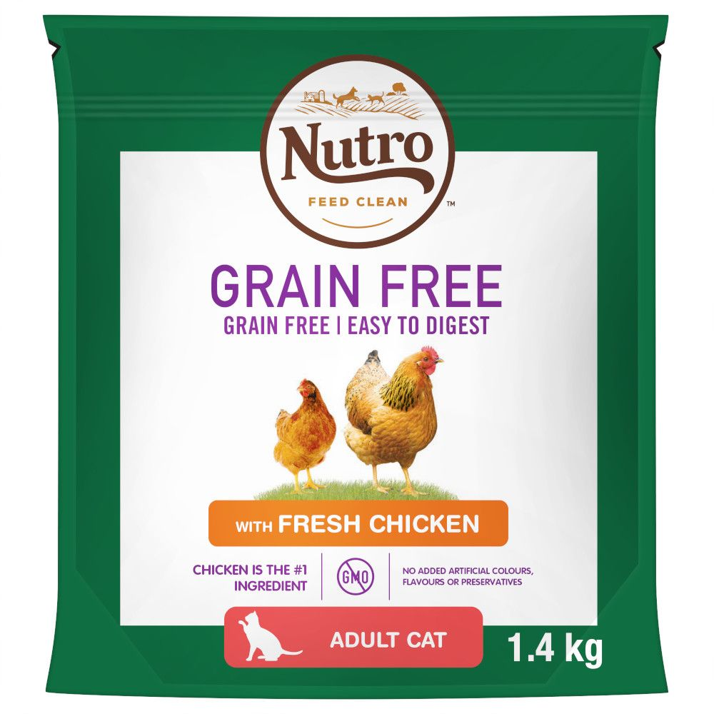 Nutro Cat Grain-Free Adult Chicken Dry Food