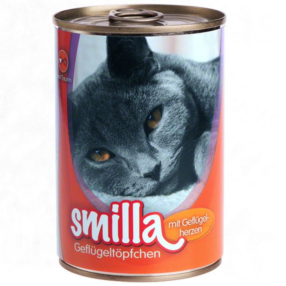 12 x 400g Smilla Wet Cat Food