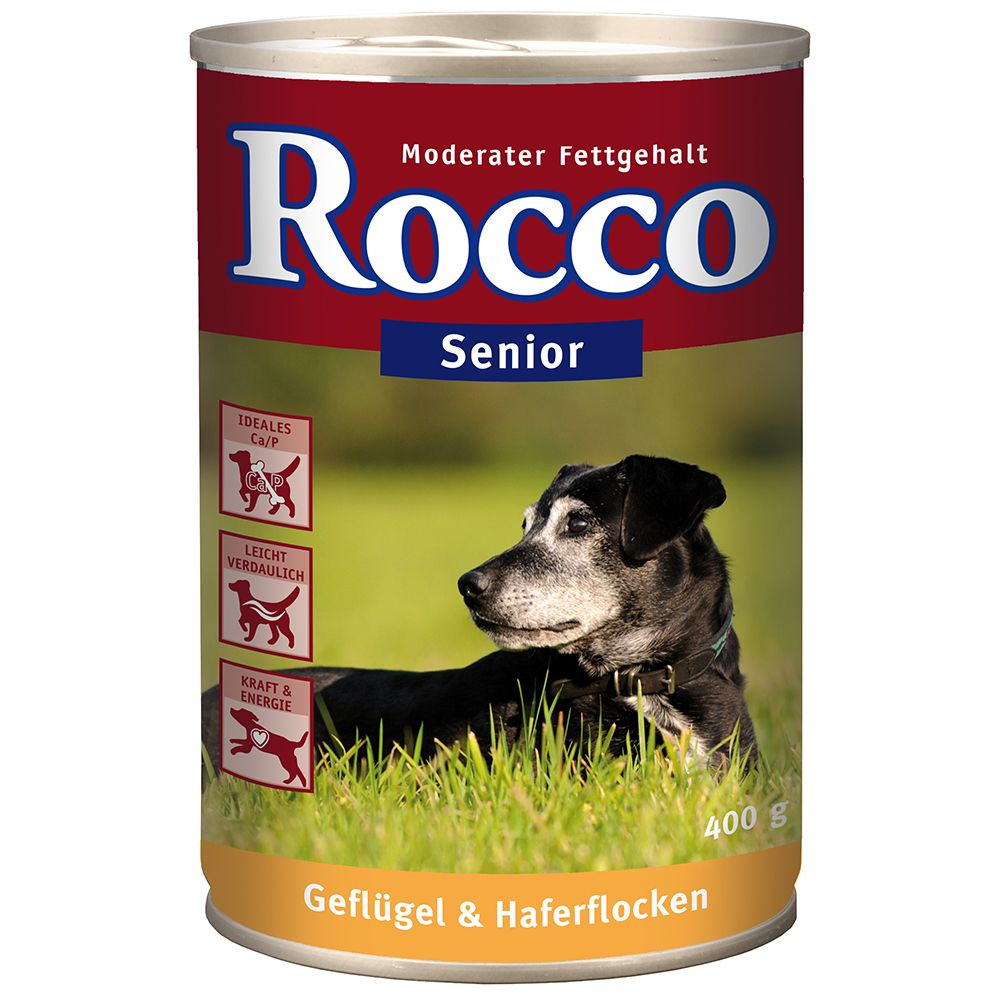 Rocco Senior, 6 x 400 g -