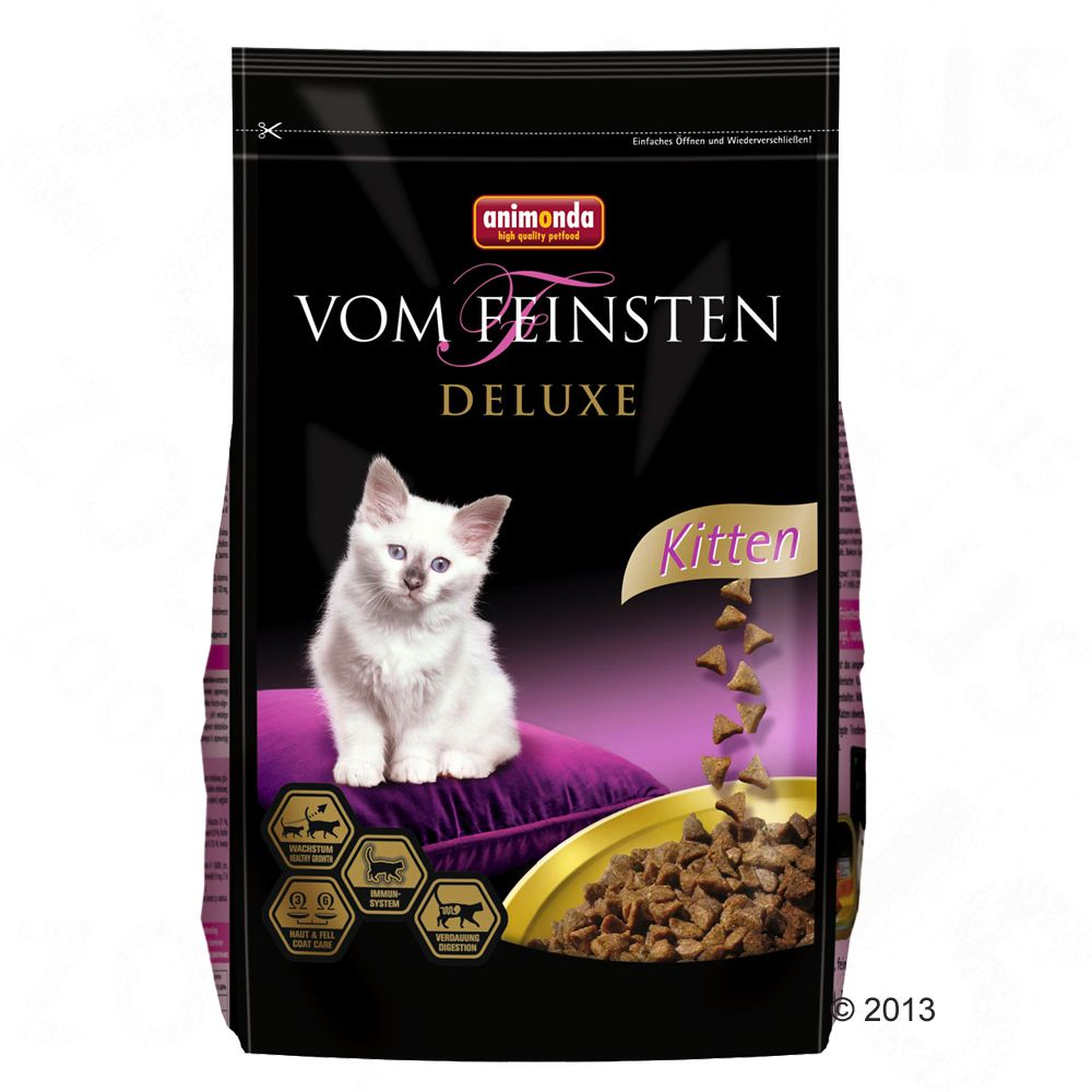 Image of Animonda vom Feinsten Deluxe Kitten - 10 kg