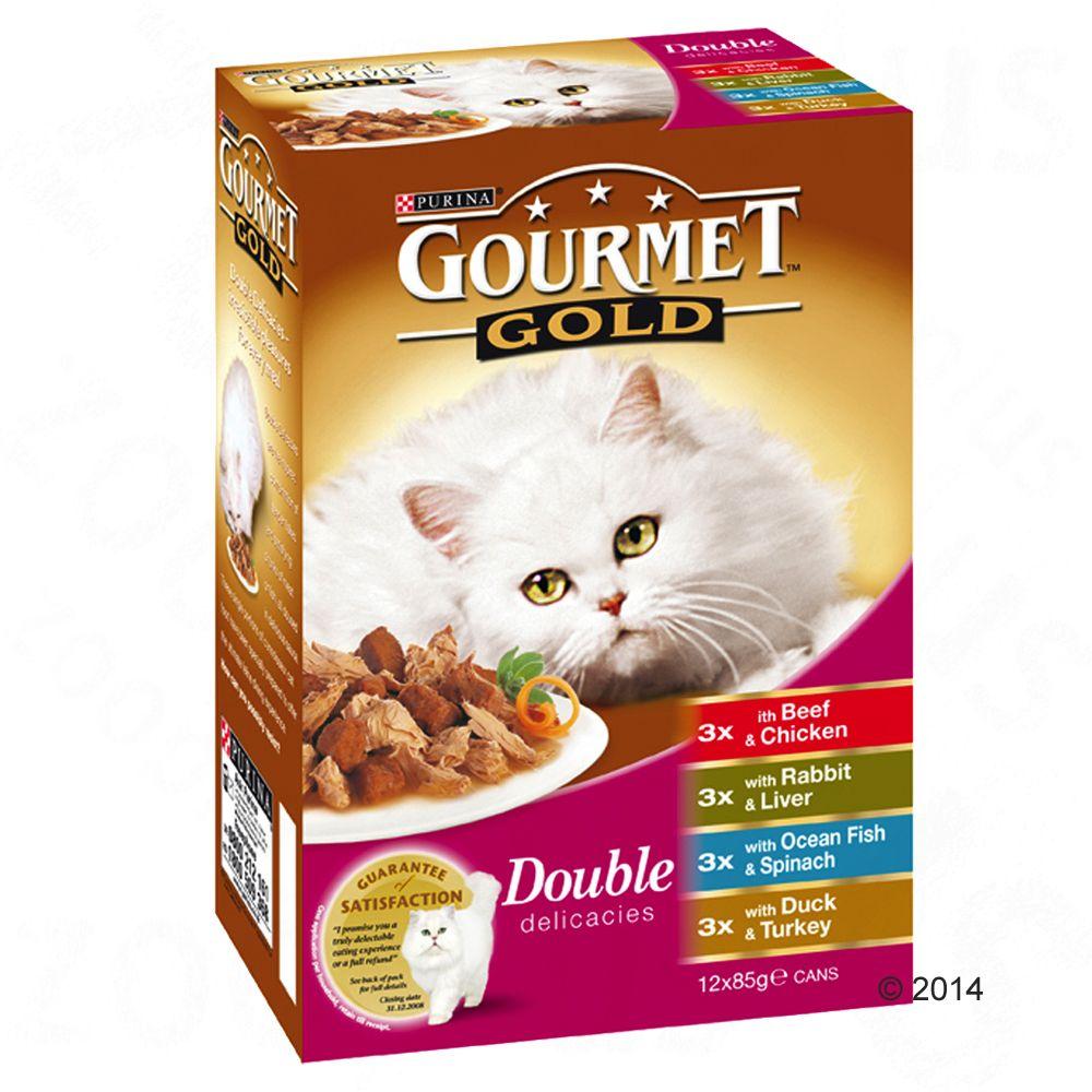 Chat Boîtes et sachets Gourmet Gold Offre d´essai Gourmet Gold