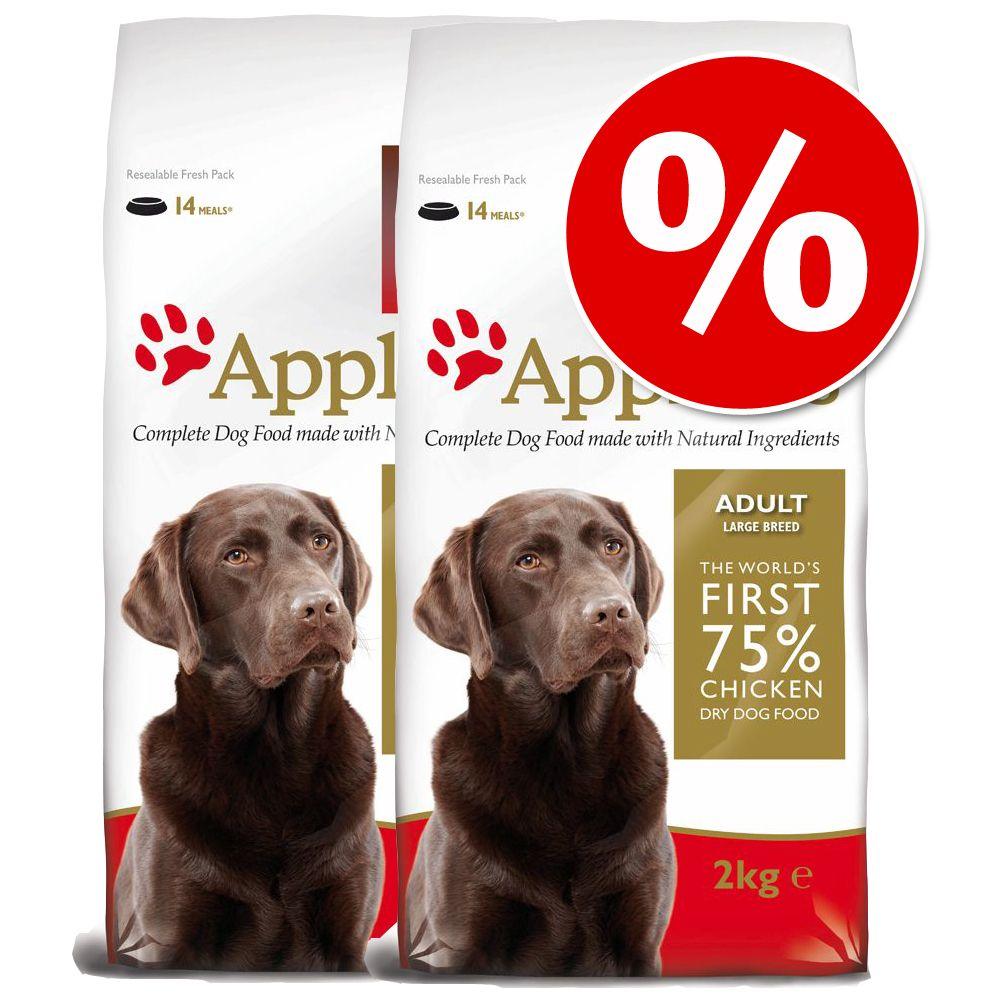Image of Sparpaket: 2 x Großgebinde Applaws Hundefutter - Adult Huhn Große Rassen (2 x 15 kg)