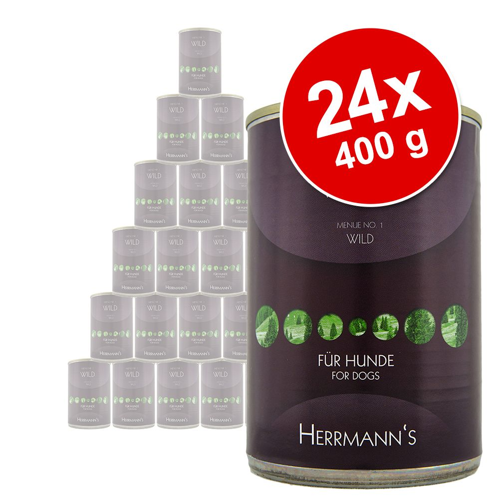 Herrmanns Menü Sensitive 24 x 400 g / 800 g - W...