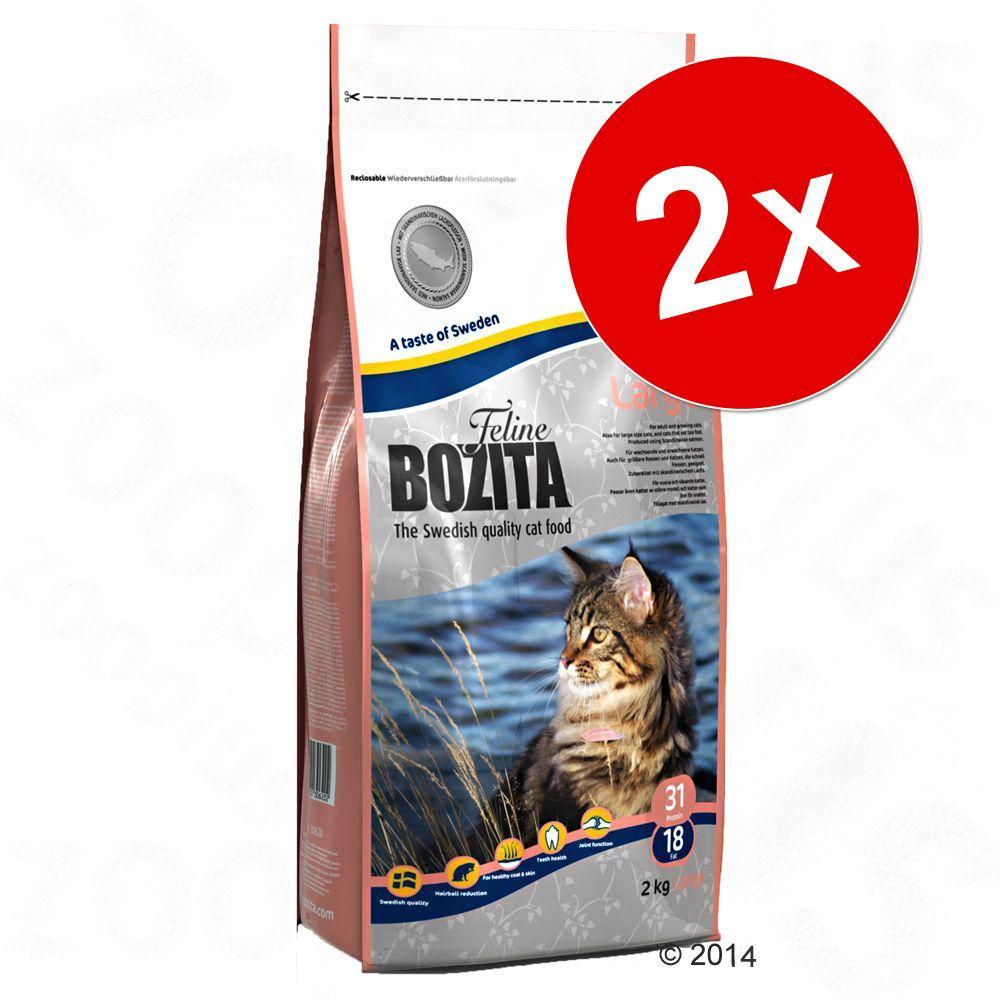Lot Bozita pour chat (2 x 10 kg) - Feline Large