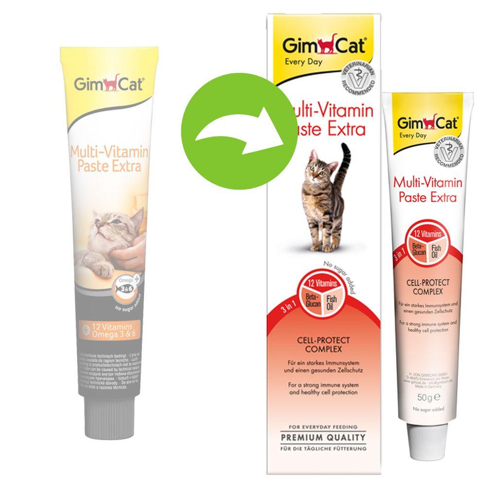 GimCat Extra Pâte multivitaminée pour chat - 50 g