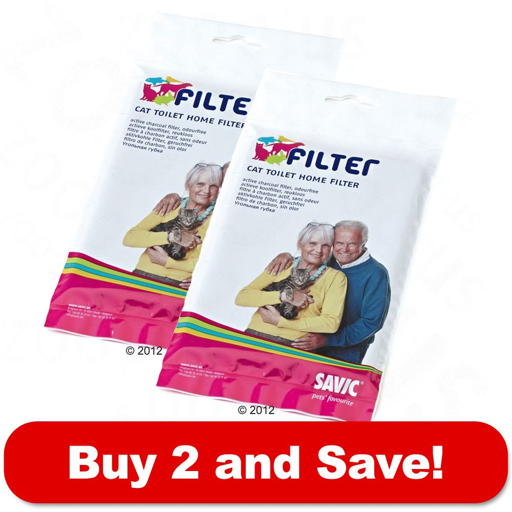 Replacement Filters Savic Litter Boxes