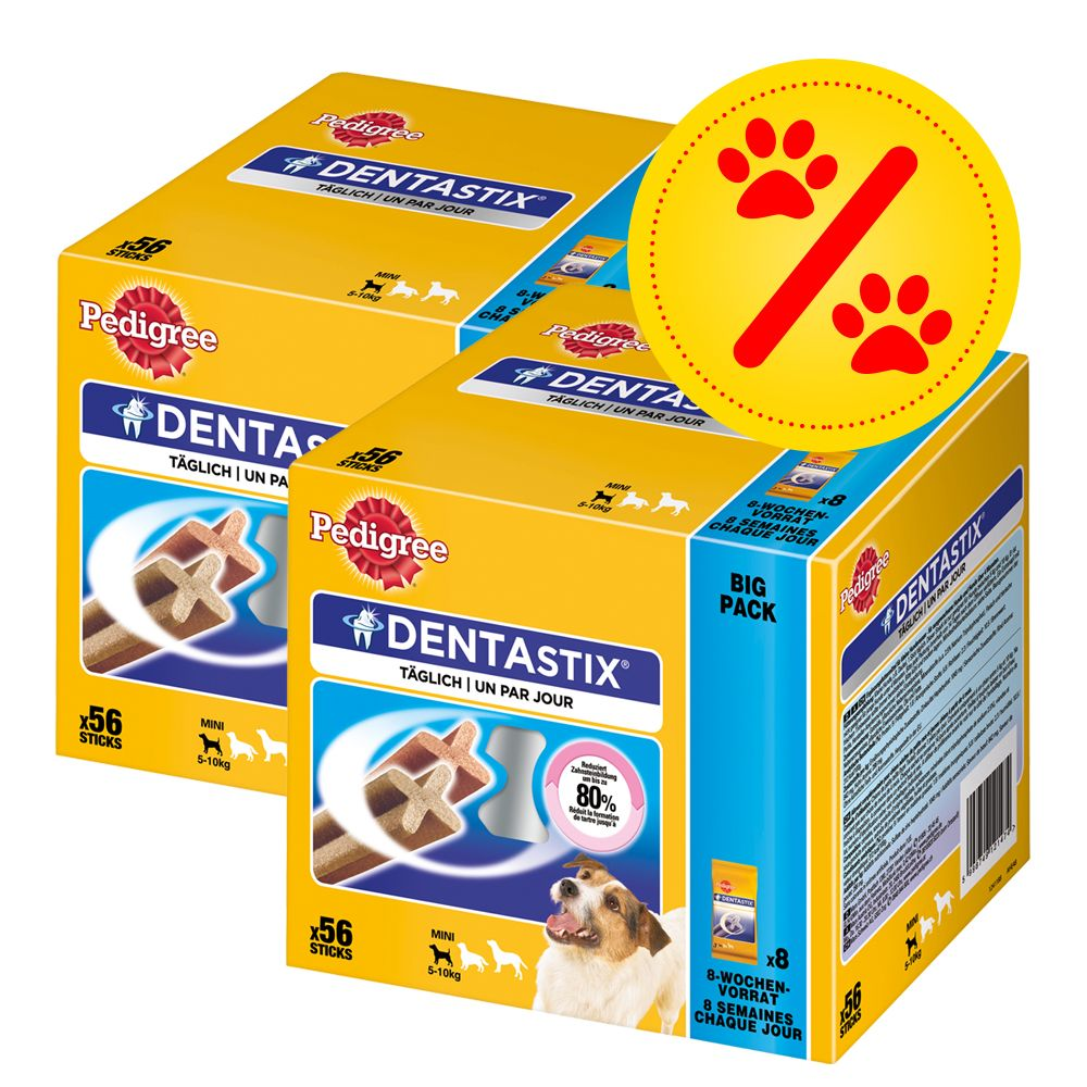 Image of 112 x Pedigree Dentastix/Dentastix Fresh zum Sonderpreis - Fresh - für große Hunde