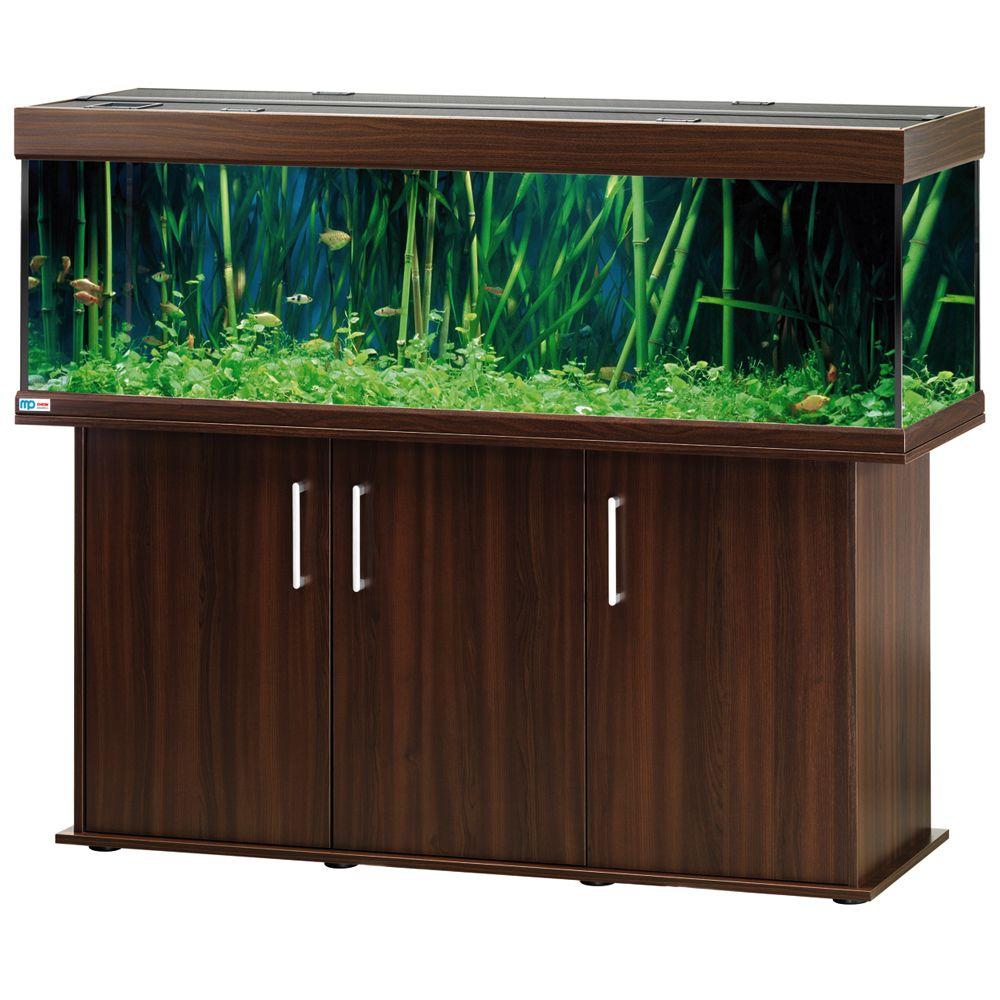 Foto Set acquario + supporto EHEIM vivaline 330 - noce MP Acquari da 121 - 200 cm