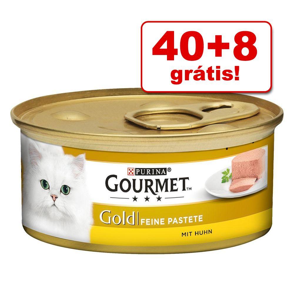 Gourmet Gold 48 x 85 g em promoção: 40 + 8 grátis! - Mousse - atum