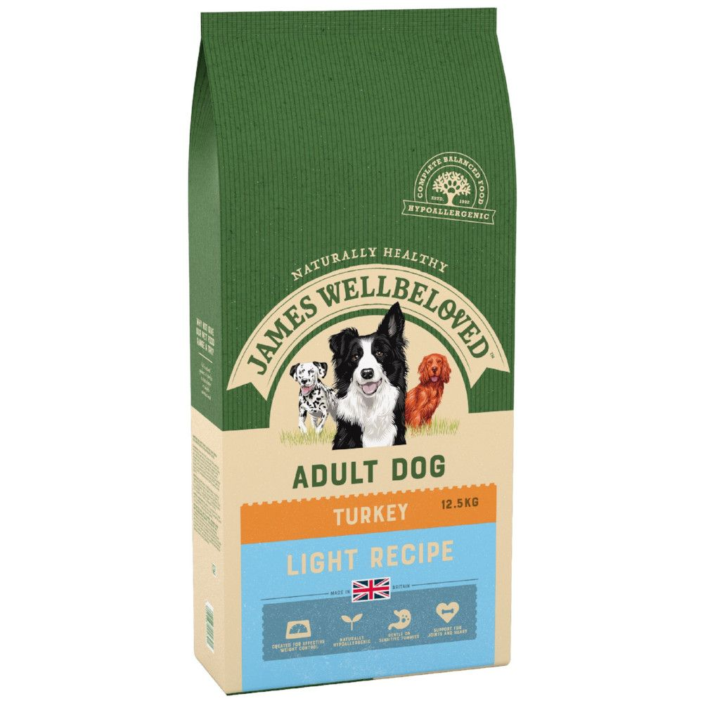 Light Turkey & Rice James Wellbeloved Dry Dog Food