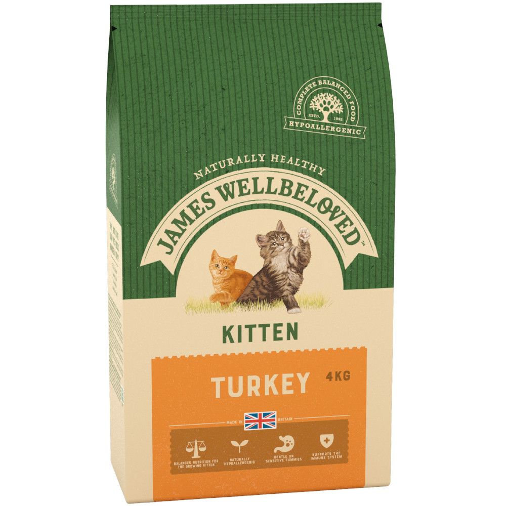Turkey Kitten Food James Wellbeloved