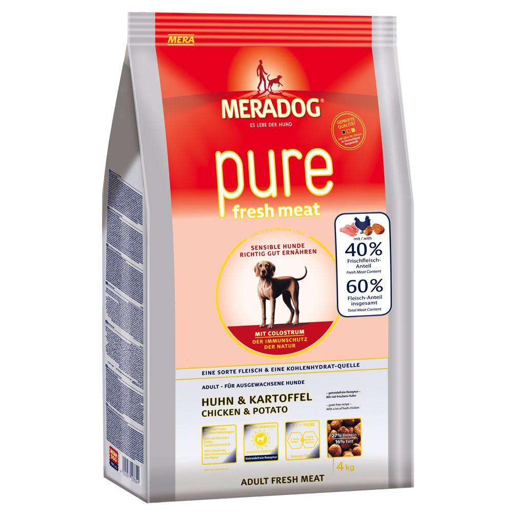 Meradog pure Fresh Meat Chicken & Potato - Economy Pack: 2 x 12.5kg