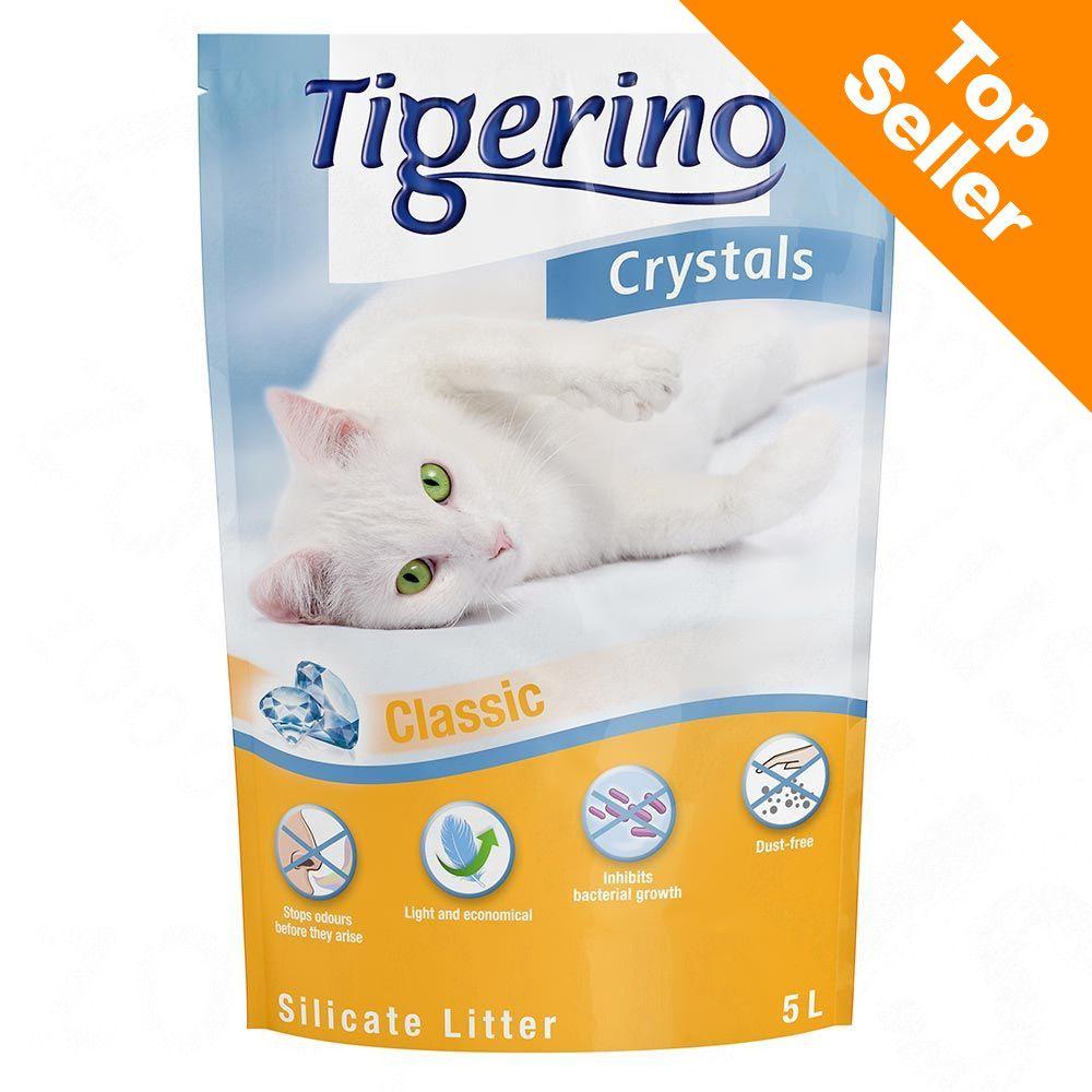 3x5L Crystals Tigerino - Litière pour chat