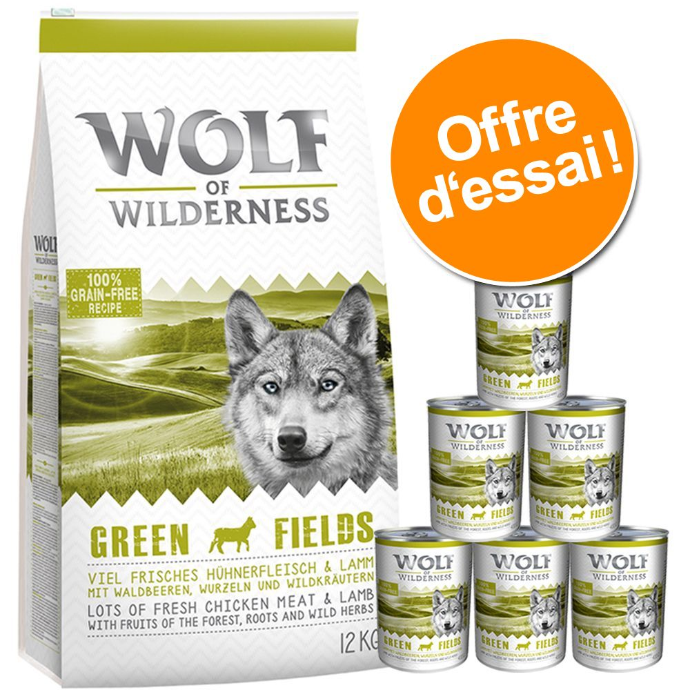 Chien Croquettes ★ Wolf of Wilderness À découvrir