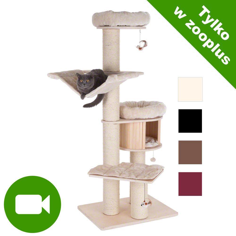 Natural Paradise XL PREMIUM EDITION drapak dla kota - Ciemnobrązowy