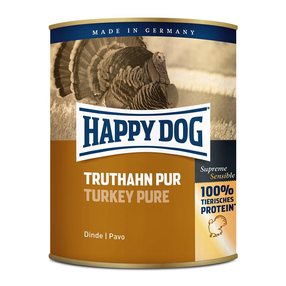 6x800g pur agneau Happy Dog - Nourriture pour chien
