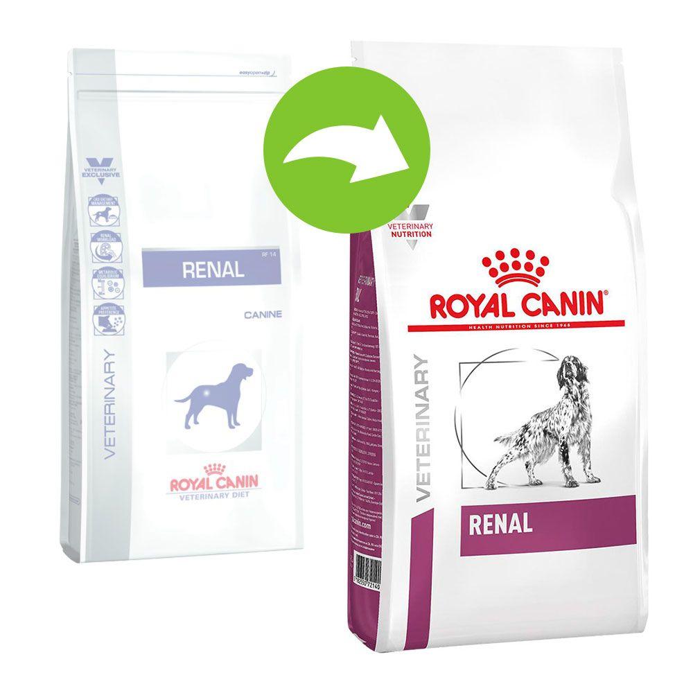 2x14 kg Renal RF 14 Chien Royal Canin Veterinary Diet pour chien