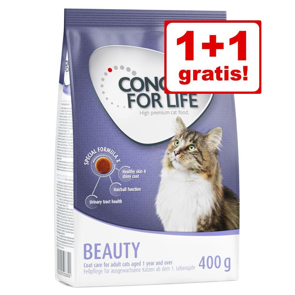Black Week- erbjudande: 1 + 1 på köpet! 2 x 400 g Concept for Life kattfoder - Outdoor Cats
