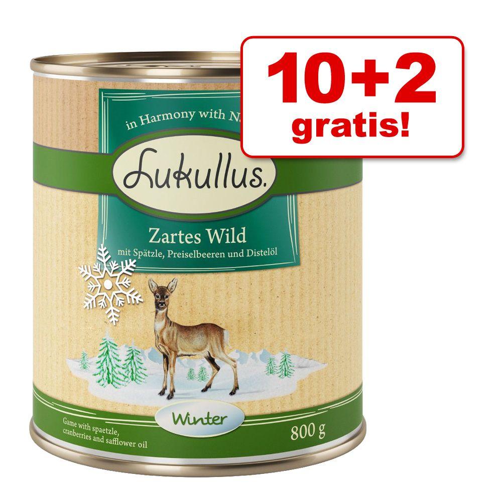 10 + 2 gratis! 12 x 800 g Lukullus Wintermenü -...
