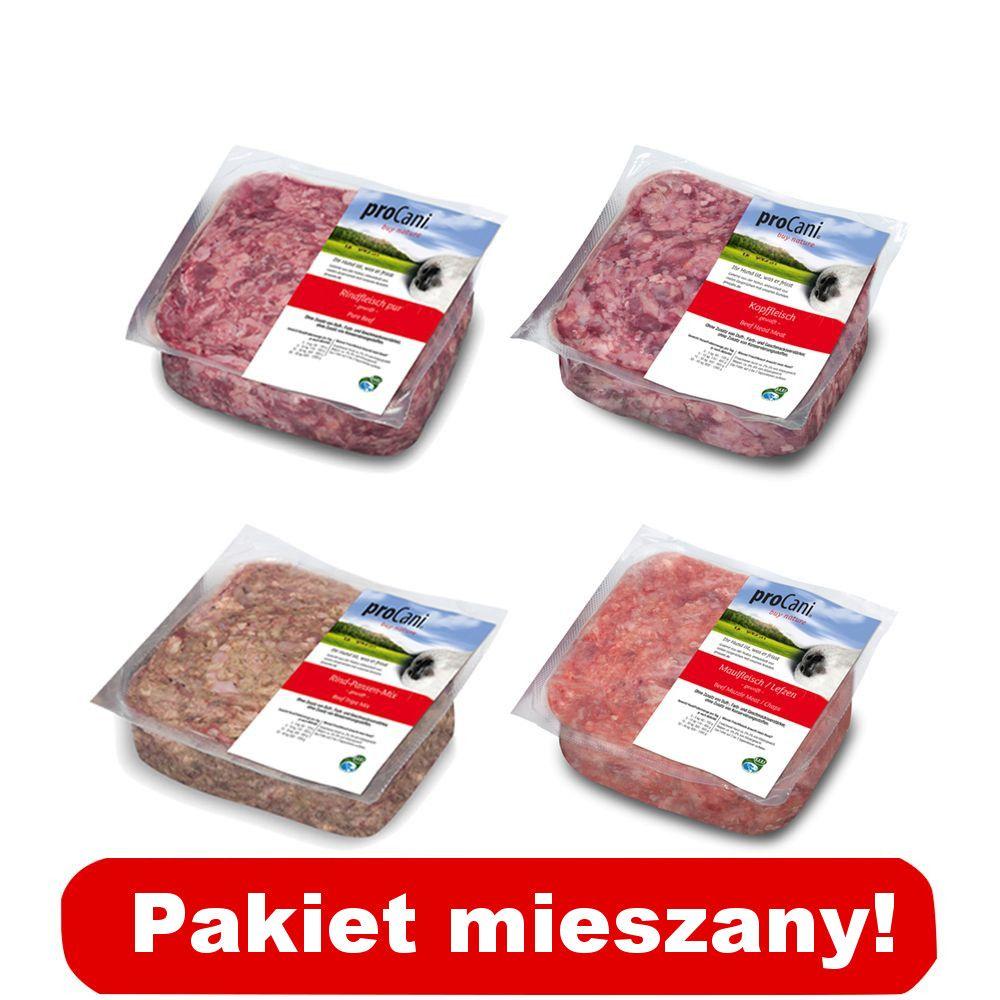 proCani pakiet wołowy - 8 x 1000 g